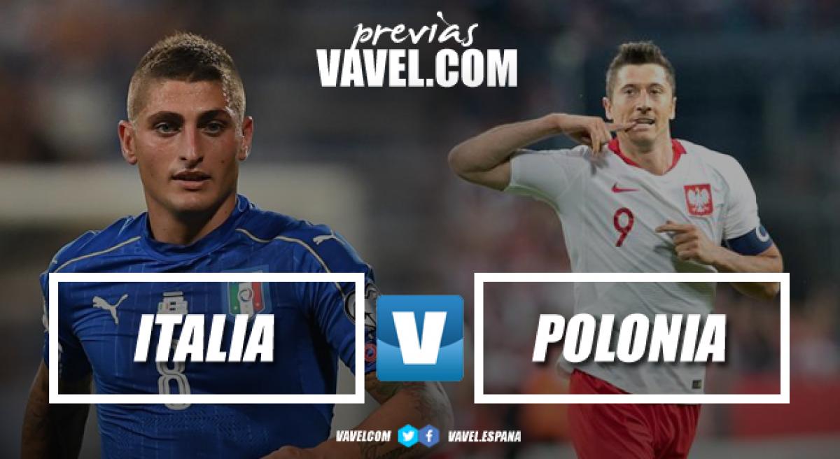 Previa Italia - Polonia: Volver a empezar