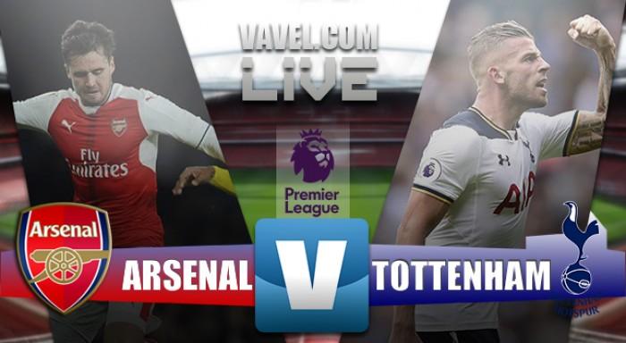 Em fases opostas, Arsenal e Tottenham fazem primeiro clássico da temporada