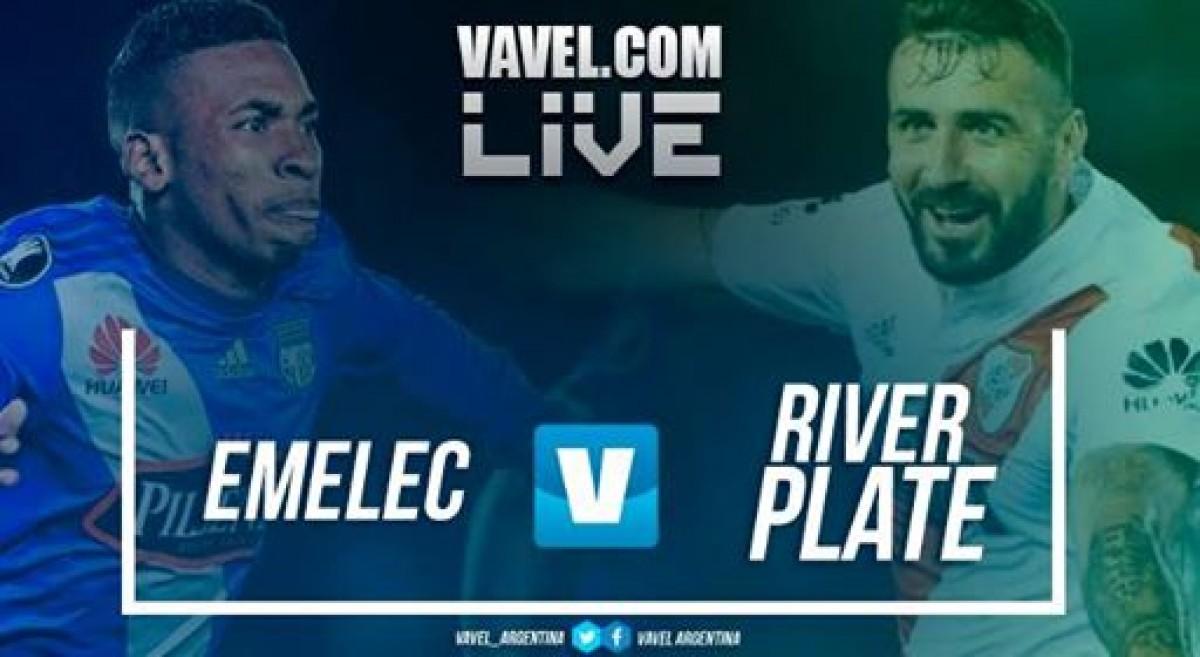 Resumen Emelec 0-1 River Plate en Copa Libertadores 2018
