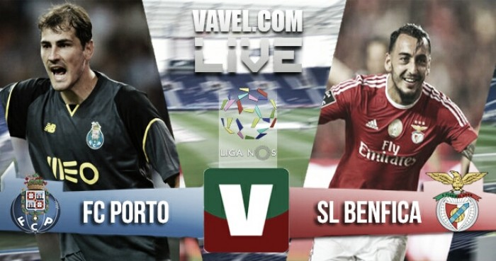 Resultado Porto 1-1 Benfica na Liga NOS 2016