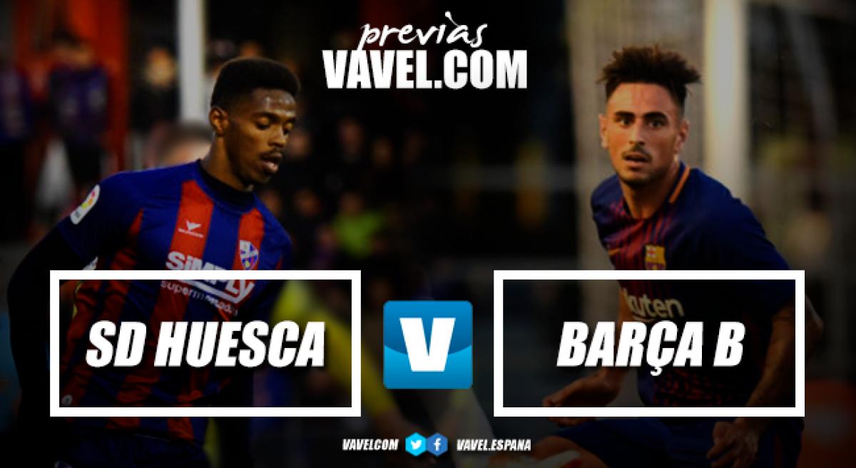 Previa Huesca-Barça B: duelo de necesitados