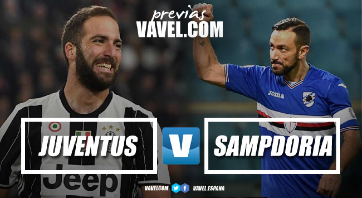 Previa Juventus - Sampdoria: borrón y cuenta nueva, el Scudetto espera