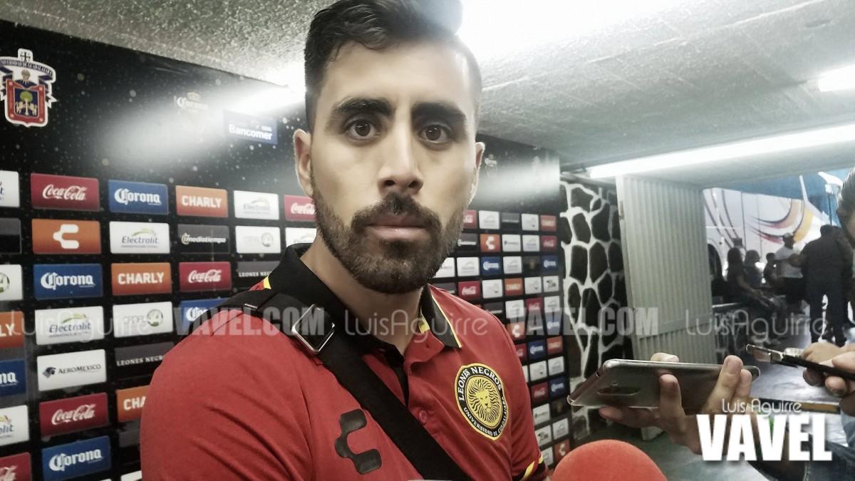 """Néstor Vidrio: """"Fue un partido redondo"""""""