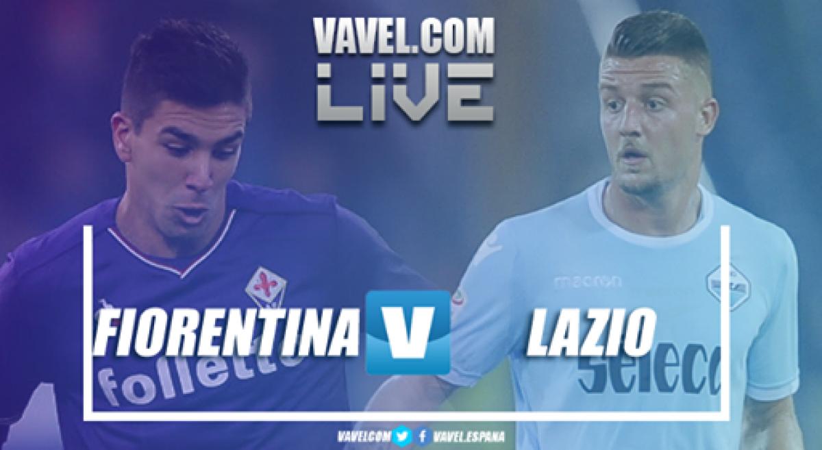 Resumen Fiorentina 3-4 Lazio en Serie A 2018 - VAVEL.com