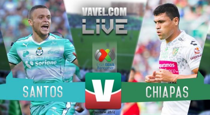 Santos se despide de su afición con triunfo, Chiapas se hunde