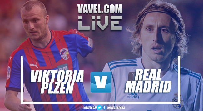 Resumen Viktoria Plzen vs Real Madrid en Champions League 2018 (0-5)