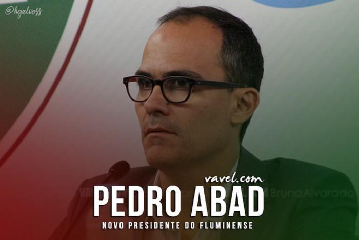 Pedro Abad é eleito o novo presidente do Fluminense para o triênio 2017-2019