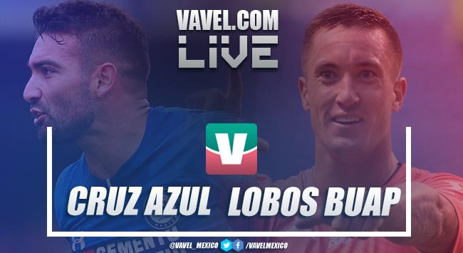 Resumen y goles del Cruz Azul 2-1 Lobos BUAP en Liga MX 2018