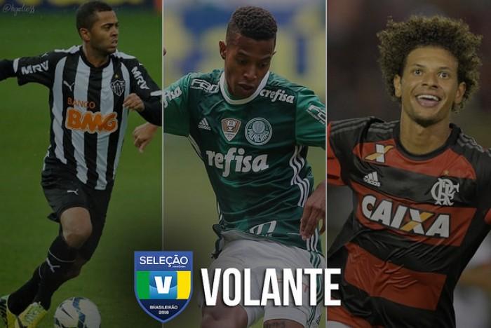 Seleção VAVEL: vote no melhor SEGUNDO VOLANTE do Brasileirão 2016!