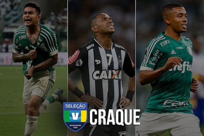 Seleção VAVEL: vote no CRAQUE do Brasileirão 2016!