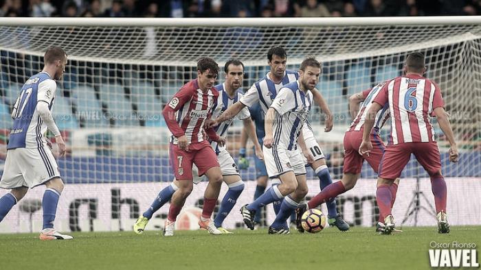 Precedentes de la Real Sociedad frente al Atlético de Madrid