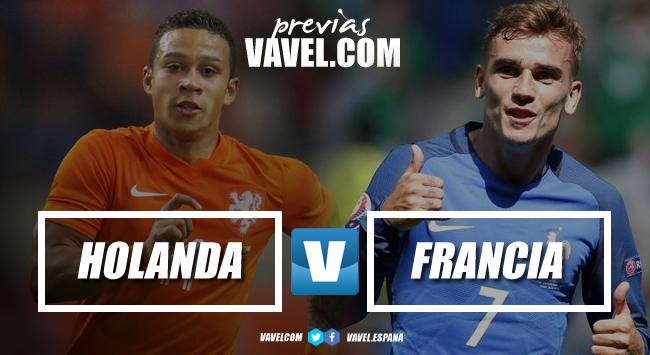 Previa Holanda vs Francia: prueba de carácter