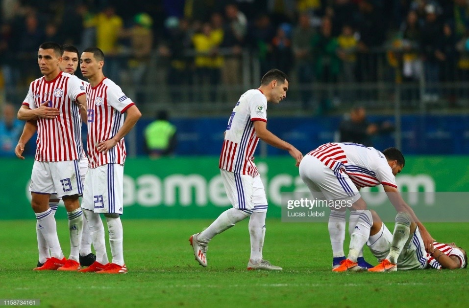 Penalty shoot-out heartache for Almiron