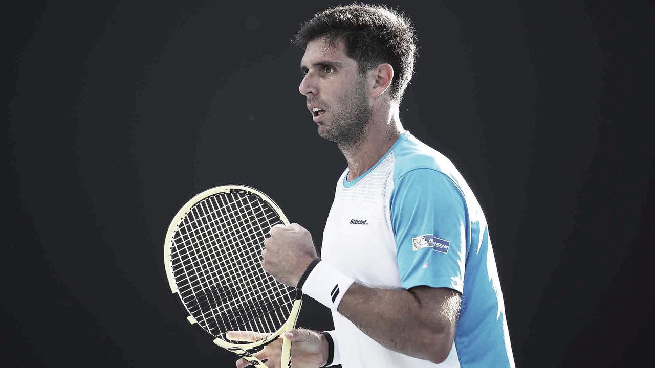 Delbonis começa mal, mas se recupera e vence Dimitrov na estreia do ATP 250 de Genebra