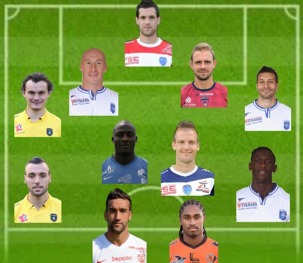 Ligue 2 : Equipe Type de la 30ème journée
