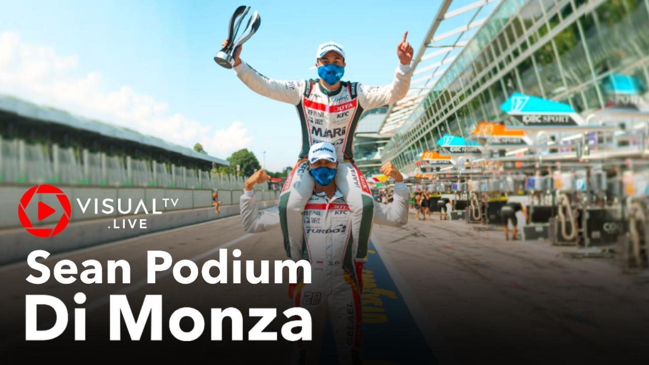 Sean Gelael Raih Podium Di Monza