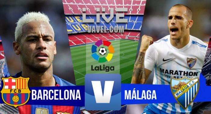 Barcelona empata com o Málaga no Campeonato Espanhol (0-0)