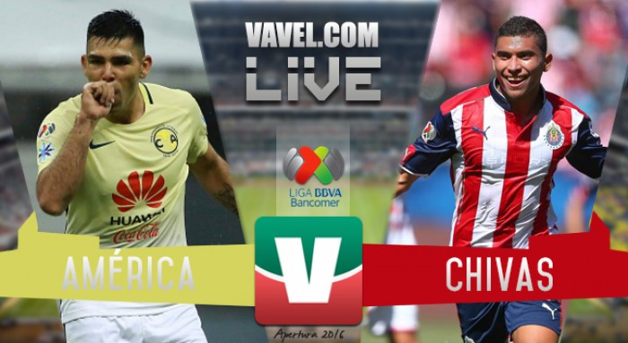 Lo dejan para el clásico del domingo; América y Chivas 1-1