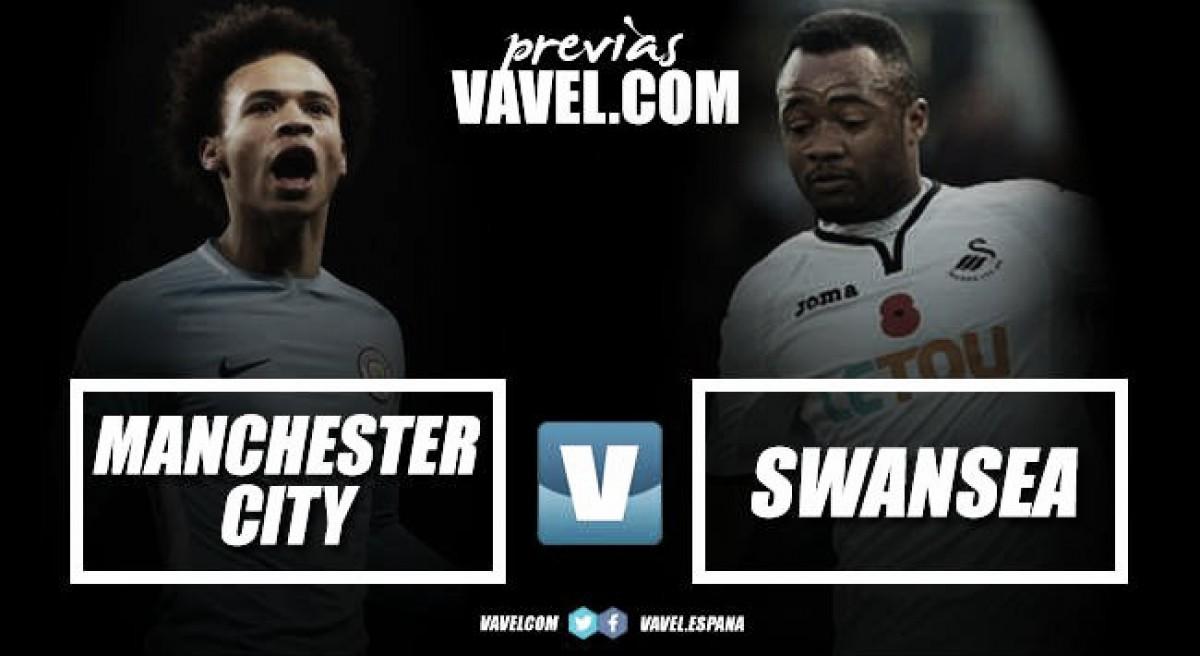 Previa Manchester City - Swansea: tres puntos que solo le sirven a un equipo