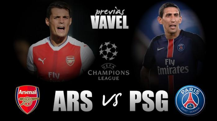 Invictos, Arsenal e PSG duelam pela liderança do Grupo A