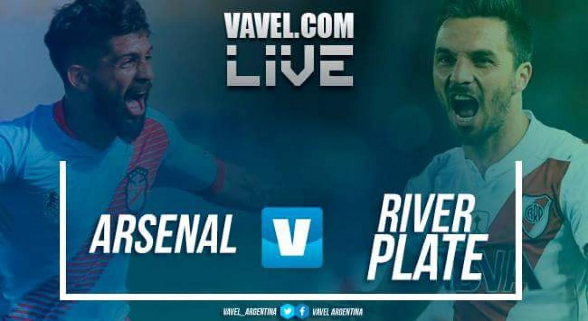 Arsenal vs River Plate en vivo y en directo online en Superliga 2018 (0-3)