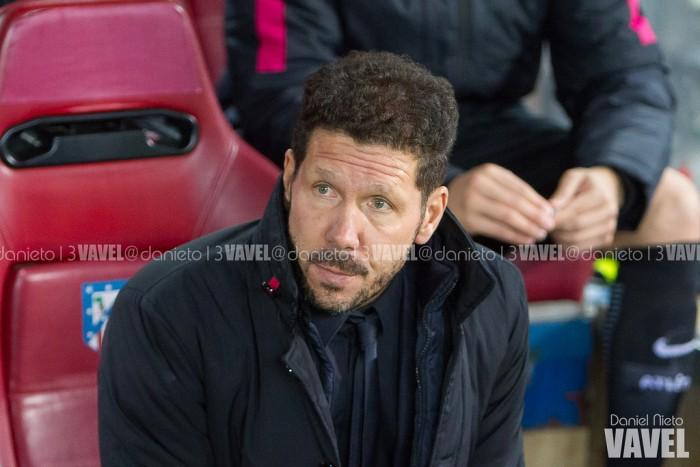 """Simeone: """"No es fácil perder el derbi y volver a jugar en casa"""""""