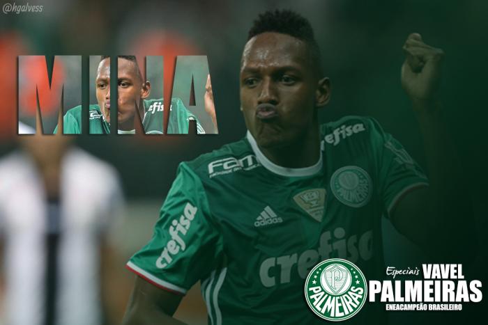 Palmeiras 2016: Yerry Mina, a segurança colombiana na zaga