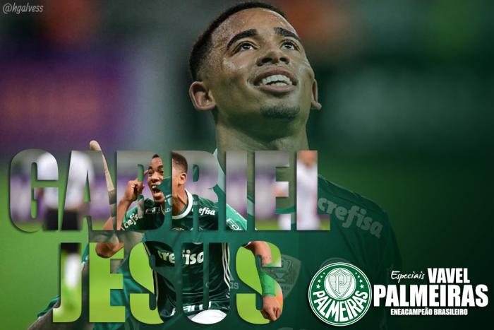 Prata da casa, Gabriel Jesus se consagra conduzindo Palmeiras rumo ao título