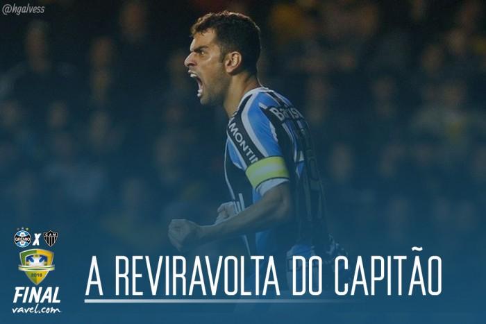 Maicon, a reviravolta do capitão do Grêmio