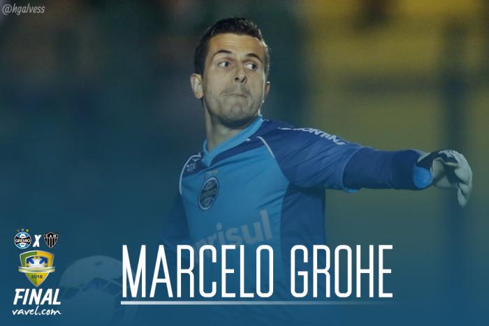 Marcelo Grohe, o gremista há mais tempo no clube