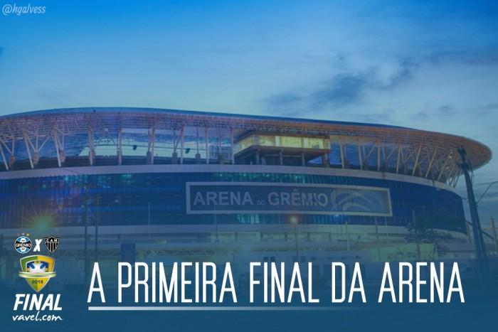 Arena do Grêmio é palco do jogo de volta de uma final pela primeira vez