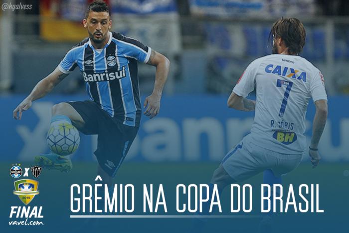 O caminho da final: Relembre jogo a jogo a campanha do Grêmio na Copa do Brasil 2016