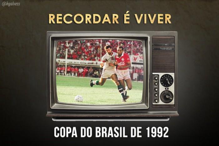 Recordar é viver: em 1992, Inter venceu Flu na final da Copa do Brasil com pênalti polêmico