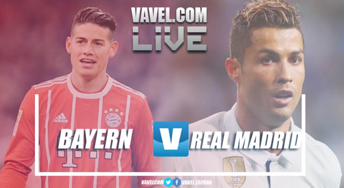 Bayern perde para o Real Madrid na Champions League (1-2)