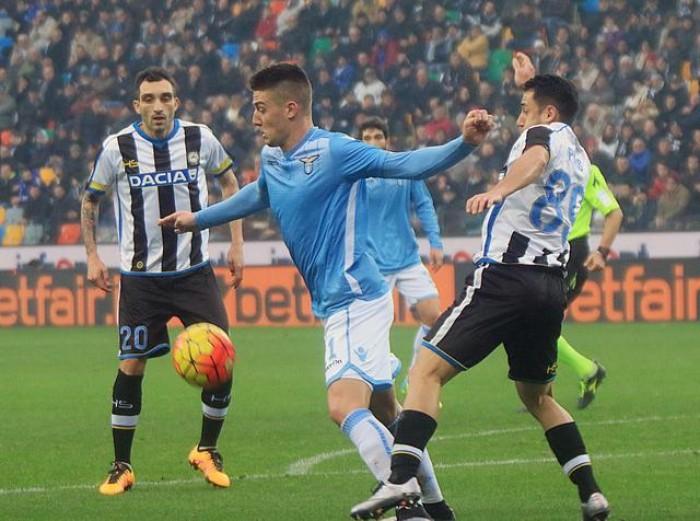 A Udine vince il nervosismo. La Lazio spreca l'occasione, punto d'oro per l'Udinese