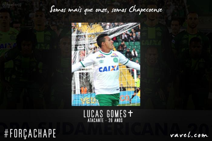 Lucas Gomes: paraense se encontrou na Arena Condá