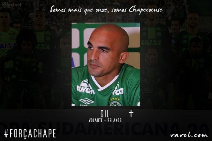 A quatro passos: volante Gil completaria 100 jogos com a camisa da Chapecoense
