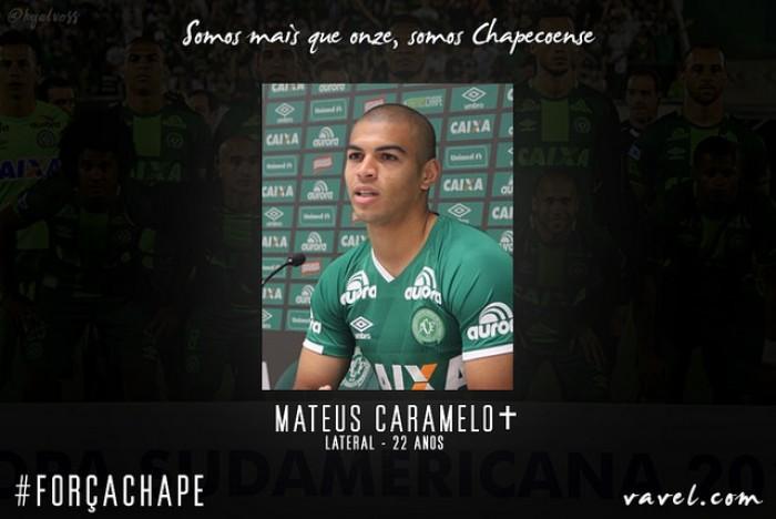 Mateus Caramelo: jogador retomava a titularidade na reta final da temporada