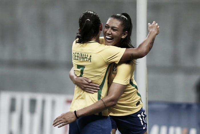Brasil vence Rússia e consegue classificação antecipada no Torneio Internacional de Manaus