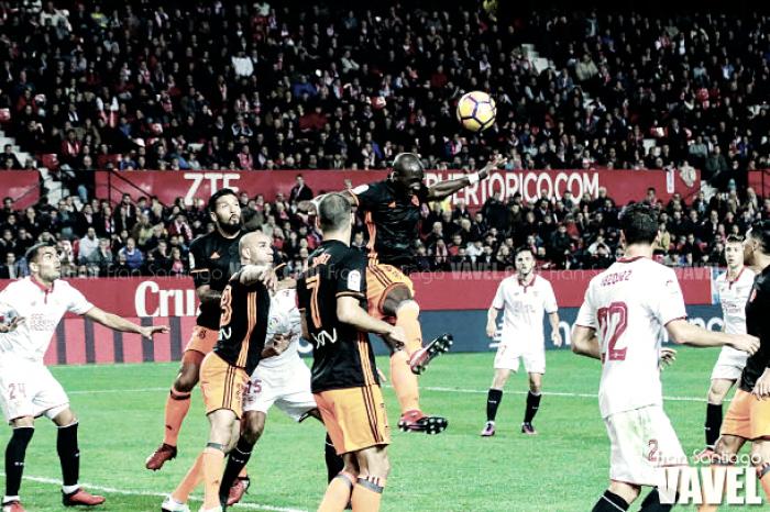 Sevilla FC - Valencia CF, puntuaciones de la decimotercera jornada de La Liga