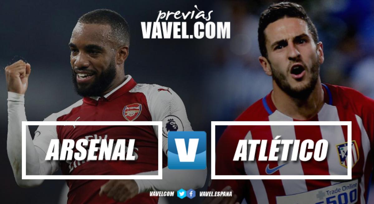 Previa Arsenal – Atlético de Madrid: salvamento continental