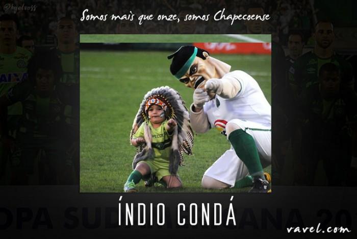 Símbolo de paz e união: conheça a história do Índio Condá, mascote da Chapecoense