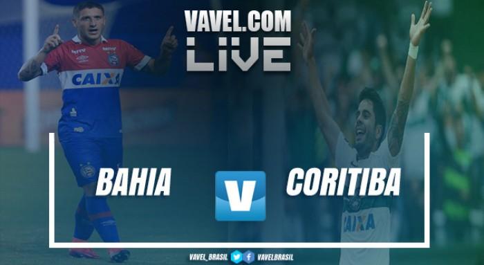 Resultado Bahia x Coritiba pelo Campeonato Brasileiro 2017 (1-1)