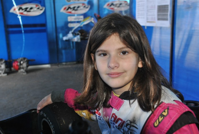 Antonella Bassani vence etapa da Copa Rotax na Granja Viana