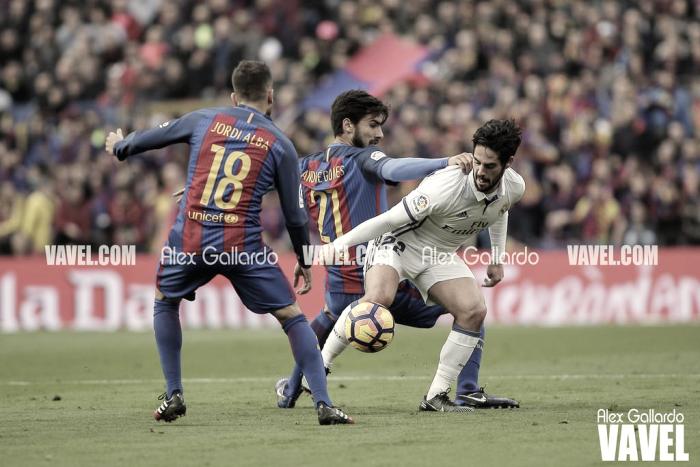 El Bernabéu, un fortín ante el Barcelona