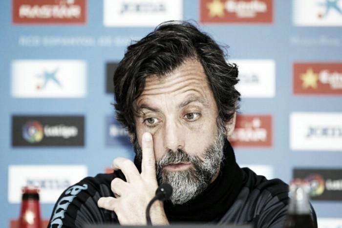 """Quique Sánchez Flores: """"Competimos contra nuestra ambición"""""""