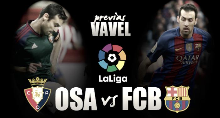 Previa Osasuna - Barcelona: David y Goliat, en busca de redimirse