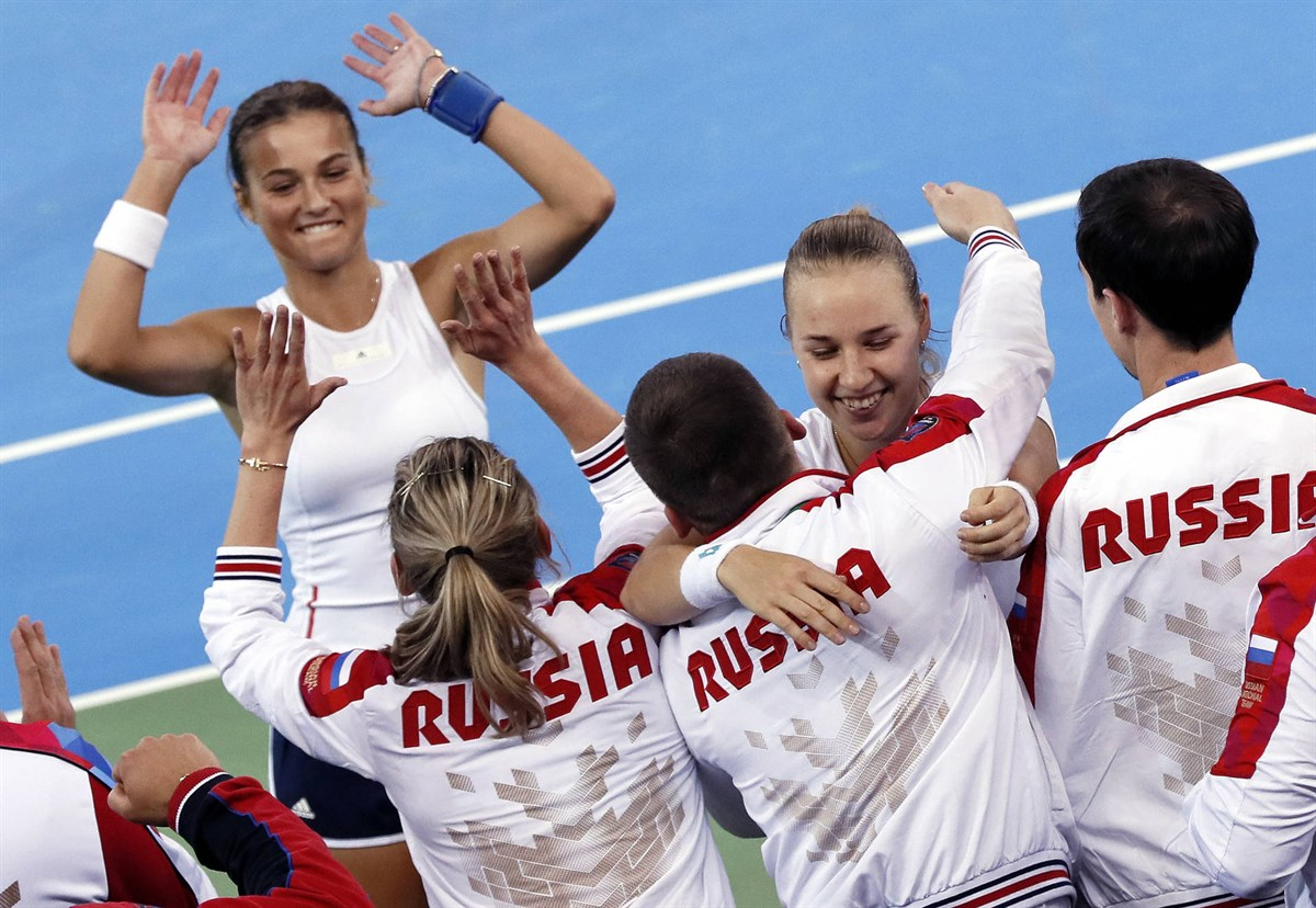 Fed Cup Qualifiers: Russia clinches deciding doubles rubber to defeat Romania 3-2