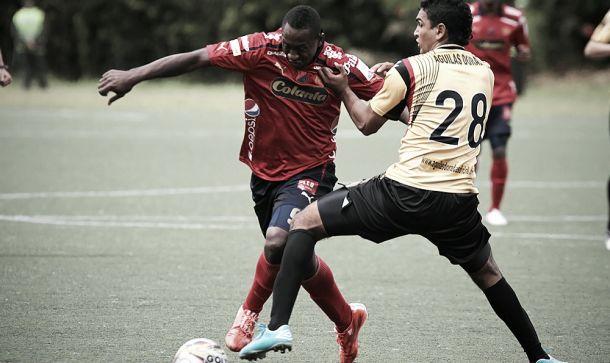 Resultado Águilas Doradas - Unión Comercio en Copa Sudamericana 2015 (2-0)