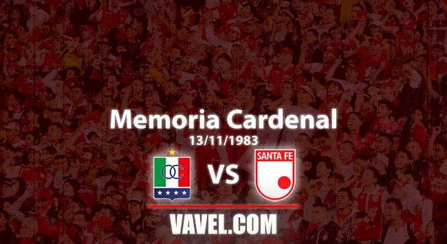 Memoria 'cardenal': La tarde en que Santa Fe rompió el cristal en Manizales